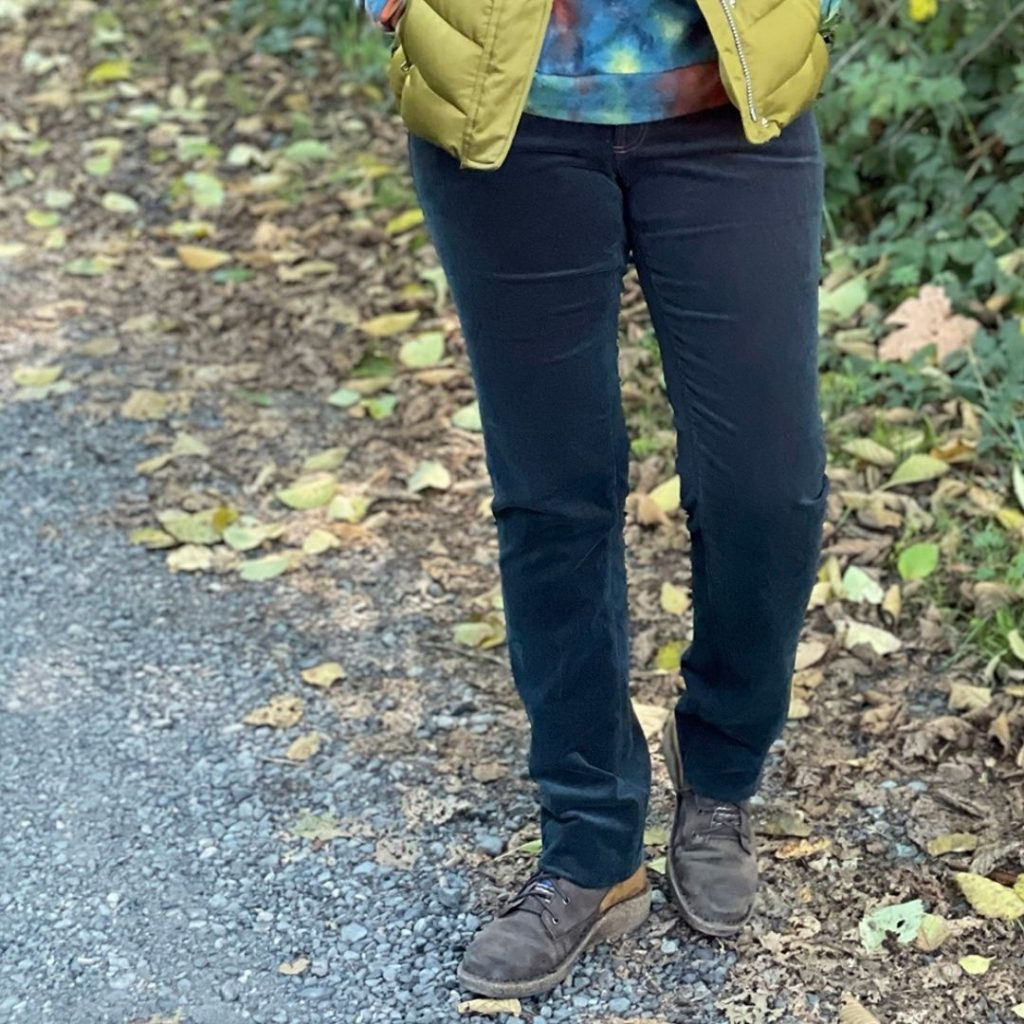 Finished Corduroy Ginger Jeans
