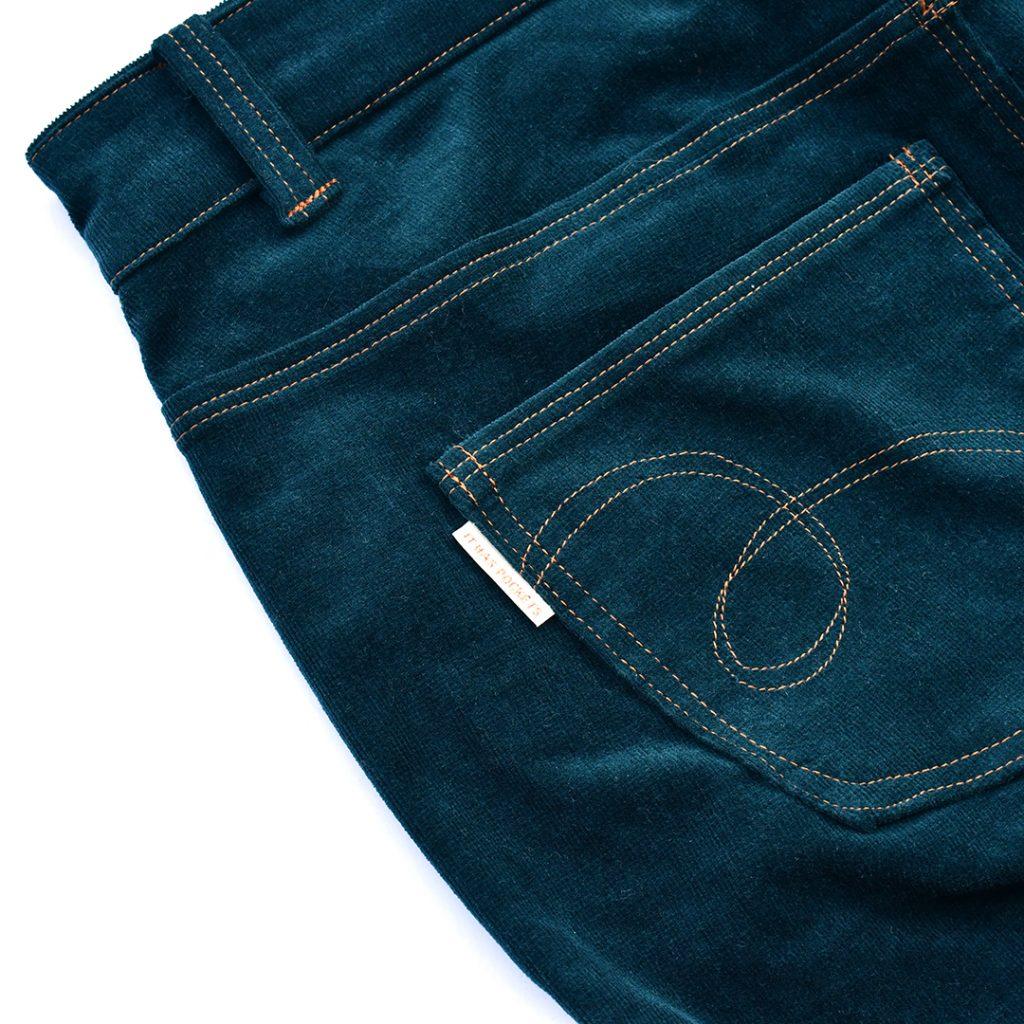 Corduroy Ginger Jeans Back Pocket Detail